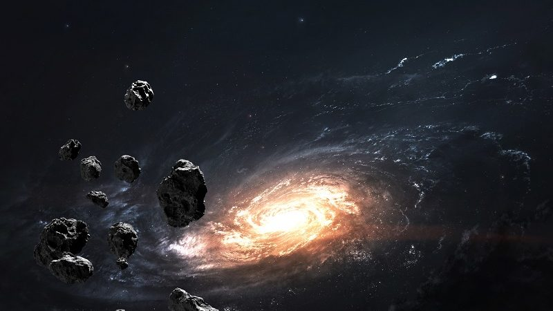 Relacja z pobrania próbki z asteroidy