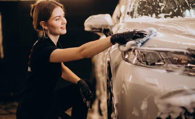 zestaw do mycia samochodu